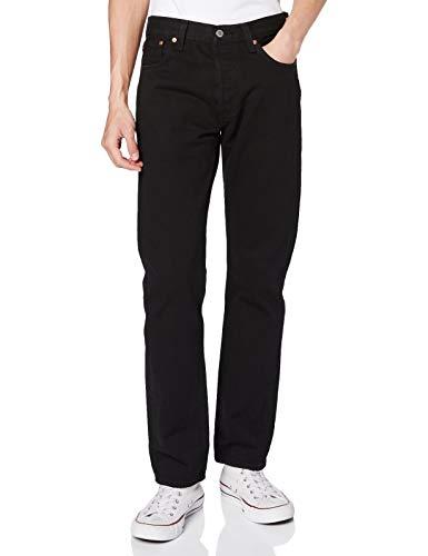 Levi's 501 Levi's Original Fit Jean pour homme Coupe droite - Noir - W38