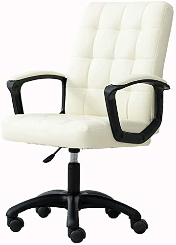 PU Swivel Chair, Household Grid Computer Chair Modern Lazy Leisure And Comfort Seat Office Chair Lifting Study Chair, 5 (Color : Style 3)