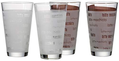 Ritzenhoff & Breker Latte Macchiato Gläser-Set Chicco, 4-teilig, satiniert