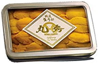 Maruhide Premium Fresh Uni Sea Urchin in Metal Tray 100g/3.52oz