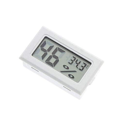 zNLIgHT Tool | Mini LCD Digitale Draadloze Thermometer Hygrometer Temperatuur Vochtigheid Meter OneSize Kleur: wit