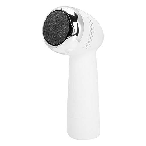 Removedor de callo, depurador de pies piel muerta conveniente Exfoliador de pies Depurador eléctrico para uso en el hogar para eliminar la piel áspera (plata)