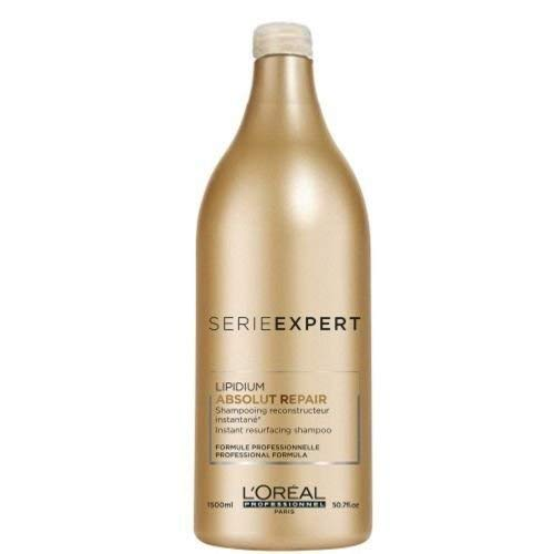L'Oréal Professionnel Série Expert Absolut Repair Lipidium Shampoo - Für weiches, seidiges & glänzendes Haar, 1.5 l