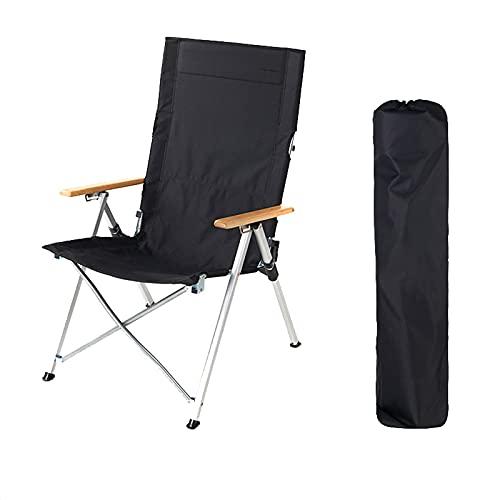 Pteng - Cómoda Silla Plegable, sillón portátil para Acampar al Aire Libre, Silla Plegable Ultraligera para conciertos en la Playa Baja con asa, se Utiliza para Playas, recorridos sin