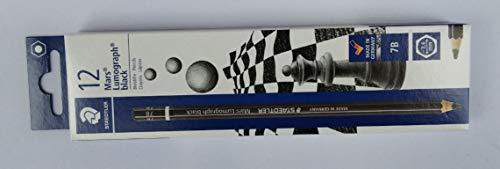STAEDTLER Bleistift Mars Lumograph black, Härtegrad: 7B, Sie erhalten 1 Packung