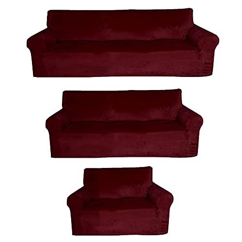 sofá terciopelo de la marca Golden Linens LLC
