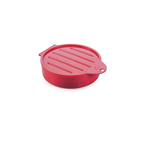 Forma para Moldar Hambúrguer, Plasútil, 006772-3424, Vermelho
