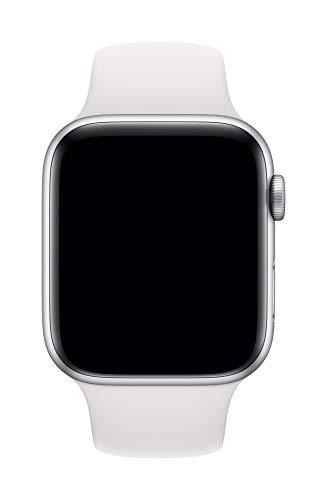 Apple Watch (44mm) Sportarmband, Weiß - S/M und M/L