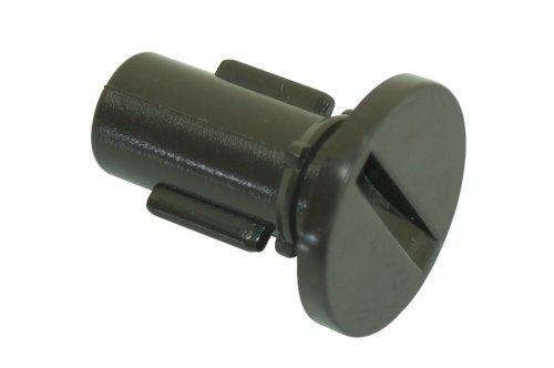HOTPOINT wasmachine binnendeur bruin button. Origineel onderdeelnummer c00205275