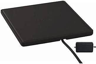 RCA ANT1450BE Indoor TV Antenna - 55 Mile Range, Omni-Directional Flat Digital TV Antenna, Amplified