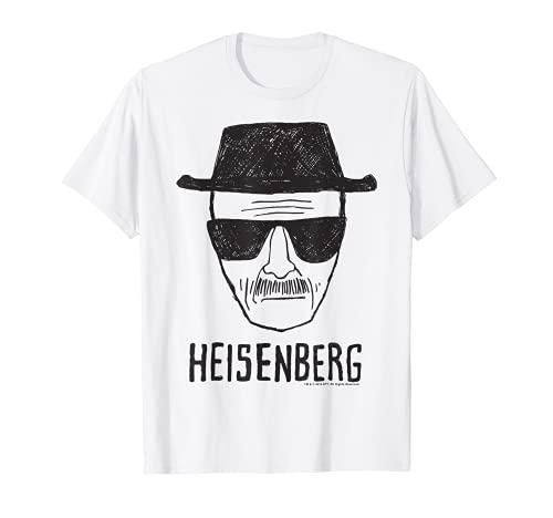Breaking Bad Heisenberg Head Shot Sketch T-Shirt