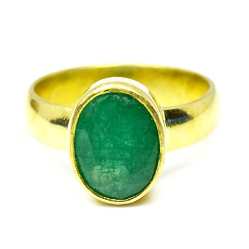 Gemsyogi  -     Oval Green Natürlicher Smaragd