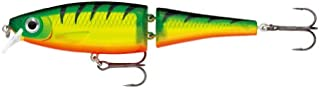 "Rapala Balsa Xtreme Swimmer Hard Bait Lure, Freshwater, Size 12, 4 3/4"" Length, 4'-6' Depth, Fire Tiger, Per 1"