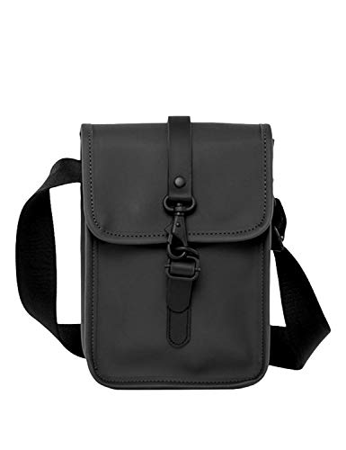RAINS Flight Bag Bolso, Unisex Adulto, Black, Talla Única