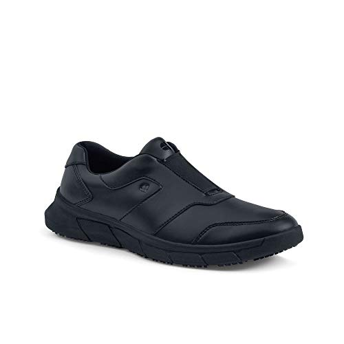 Shoes for Crews 36479 Scarpe da Uomo Antiscivolo Stile Grayson, Nero - Certificato di Sicurezza EN