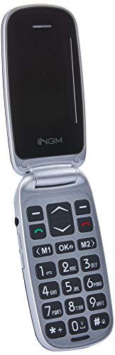 NGM Facile Hit Easy Phone, argento nero