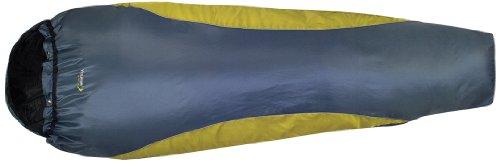 Highlander SB056 Voyager Ultra Compact Lite - Saco de dormir para adultos, color gris y verde