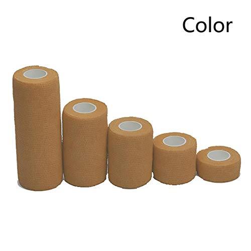 LLine Kinesiologie Wrap Tape Enkel knie Artrose Spierbeschermer Zelfklevend verband Kleurrijk sport Elastisch verband voor fitness in de sportschool, kleur, 15 cm x 4,5 m