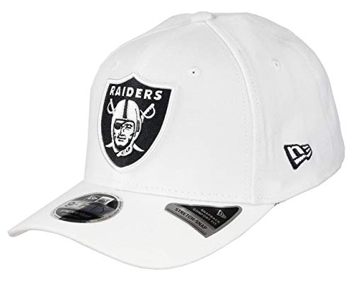 New Era 9FIFTY NFL Stretch Oakland Raiders Snapback Cap weiß/schwarz, S/M