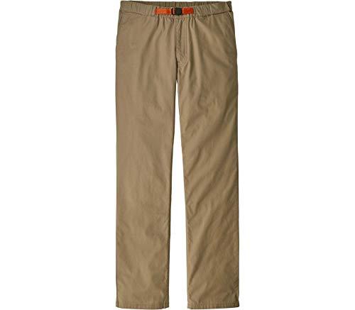 Patagonia M's Organic Cotton Lw Gi Pants Herrenhose XL grün (Mojave Khaki)
