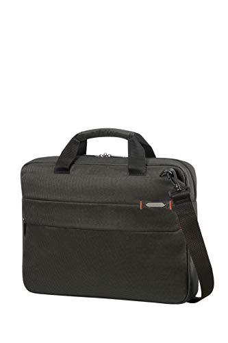 Samsonite LAPTOP BAG 15.6' (CHARCOAL BLACK) -NETWORK 3  Equipaje de mano, 0 cm, Negro