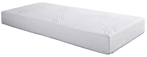Ergovital Vitalwell Premium-Viscoschaum-Matratze mit Kaltschaumträger, Größe:90 x 200 cm, Härtegrad:H1