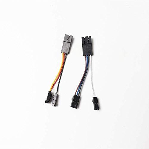 For Prusa i3 MK2/MK2s to MK2.5 upgrade V-cables left hotend fan and PINDA V2 probe 3D Printer Parts