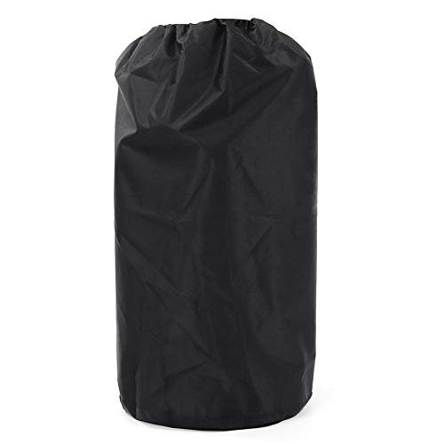 DONGZHI 20 Libras Propano Cubrir Impermeable A Prueba de Polvo para Exteriores Gas Estufa Cámping Partes Polvo Proteccion Cubrir (Color : Black, Size : 31x59cm)