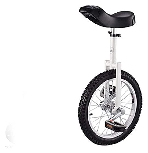 Unicycles para Adultos para niños, Bicicleta Ajustable 16'18' 20'Entrenador de Ruedas de 20', Patinaje a Prueba de Llantas Balance de Ciclo Principiantes para niños Adult Ejercicio Fac