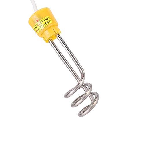keyren Tragbarer Elektrokessel, Elektro-Spiralrohr Spiralrohr, 2000W Trinken für Büro(European Standard 220V)
