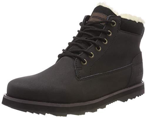 Quiksilver Herren Mission V-Shoes for Men Schlupfstiefel, Schwarz (Solid Black Sbkm), 44 EU