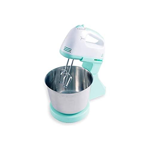 KSDCDF Batillo eléctrico eléctrico de Escritorio eléctrico Crema Batida for el hogar y máquina de harina Mezclador for Hornear pequeños electrodomésticos