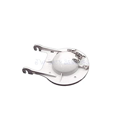 """Jacuzzi Toilet Flapper HF04000 3"""" with Chain and Seal"""