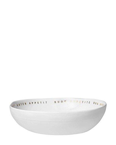 Räder Design - Schale - Guten Appetit Porzellan - weiß Ø 18cm Höhe 4,5cm