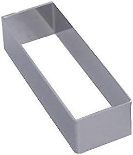 De Buyer 3943.12 - Molde Rectangular para repostería (12 x 4 x 3 cm)