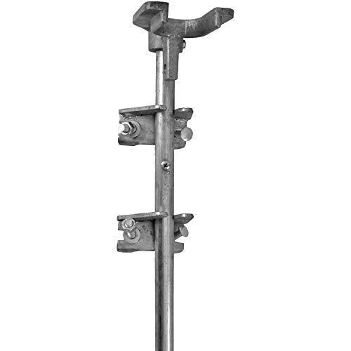 Jake Sales Chain Link Drop Rod/PIN Latch for 1-3/8' Frame Double Gate - Chain Link Fence. 36' Long.