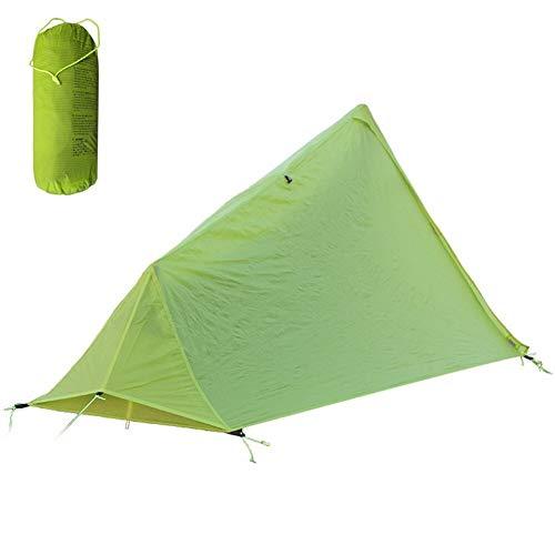Edward Jackson Eine Person wasserdichte Trekkingstock-Zelt Ultra Backpacking Camping Fischen-Zelt Zelt für Famping