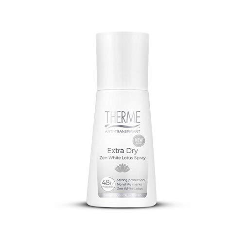 Therme Zen White Lotus Anti Transpirant Extra Dry Spray, 75 Ml