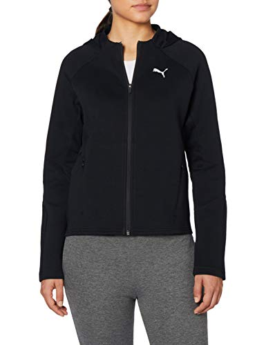 PUMA Evostripe Full-Zip Hoodie, Pullover Donna, Nero, M