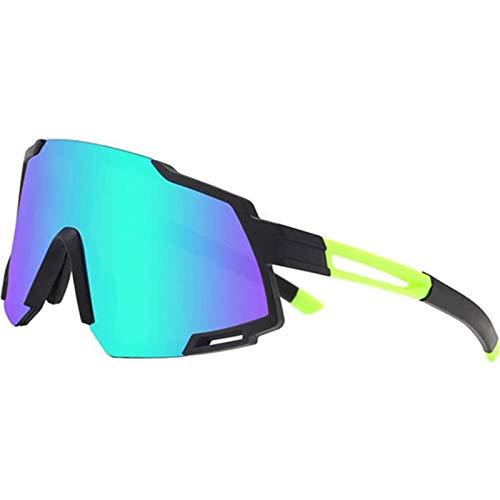 ZYQDRZ Gafas De Sol Polarizadas Deportivas, Gafas De Esquí, Espejos De Bicicletas con 5 Lentes Intercambiables,#3