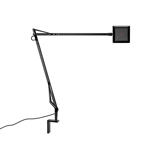 Aplique de pared con soporte metálico, colección Kevin Edge, 7W , 8,5 x 41,4 x 47,3 centímetros, color negro (referencia: F3454030)