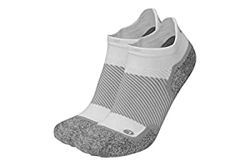 Diabetic and Neuropathy Non-Binding Wellness Socks by OrthoSleeve WC4 Improves Circulation and Helps with Edema  Medium NoShow White