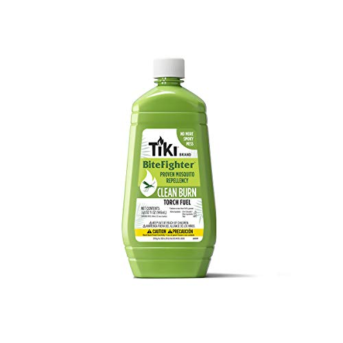 TIKI Brand Clean Burn BiteFighter Torch Oil, 32 Ounce
