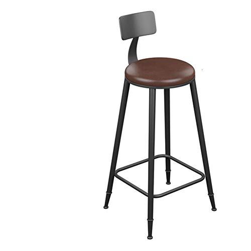 Xiao Yu Nachtclub Barhocker - Eisen Massivholz Barhocker Barhocker Einfacher Hochhocker Hochhocker Barhocker Barhocker Zurück Vorne Stuhl (Size : XXXL)