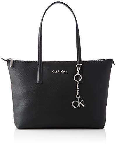 Calvin Klein Shopper MD, ACCESSOIRES Femme, Noir, Taille Unique