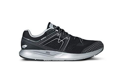 Karhu Synchron Ortix - Zapatillas de running para hombre, color negro/gris, talla 42