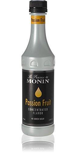 Sugar free option: Monin Passion Fruit Flavor Concentrate 375ml Bottle