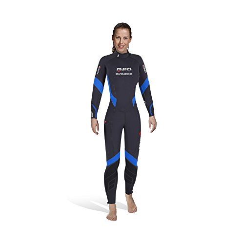 Mares Pioneer 7mm-She Dives Traje De Neopreno, Mujer, Multicolor, S2
