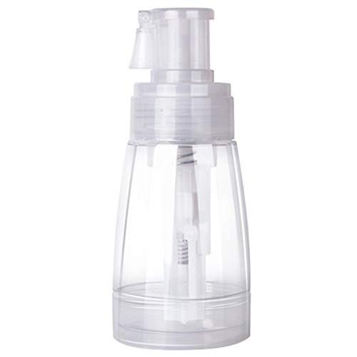 Botella de Spray Ligero y Pequeño Botella de Spray de Polvo Portátil con Boquilla de Bloqueo para Champú Seco Brillo, Maquillaje Polvo Suelto, Desodorisante 180 ml Para Viajes o Uso Doméstico