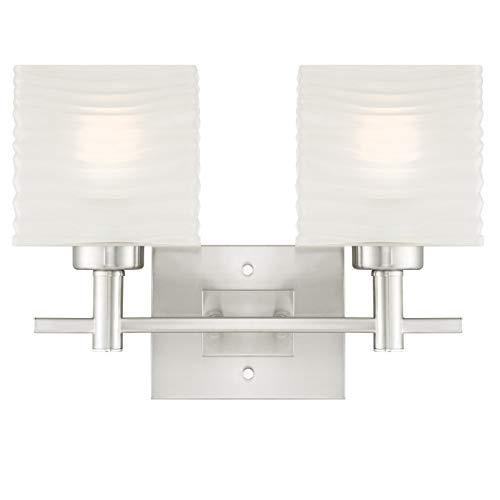 Westinghouse Lighting lamp, glas/metaal, 50 W, geborsteld nikkel